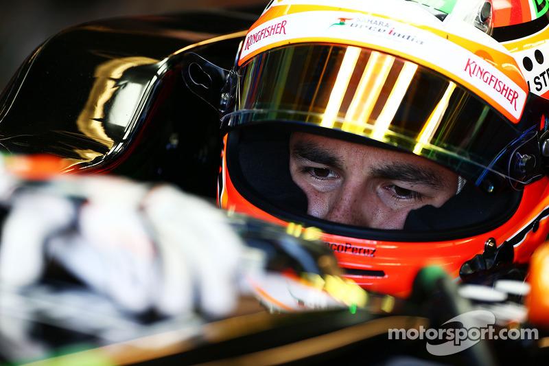 Sergio Perez, Sahara Force India F1 VJM07
