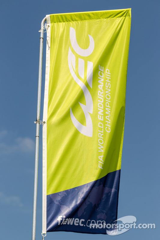 WEC World Endurance Championship logo e bandeira