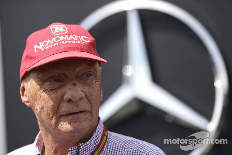 Niki Lauda, Presidente Mercedes non esecutivo
