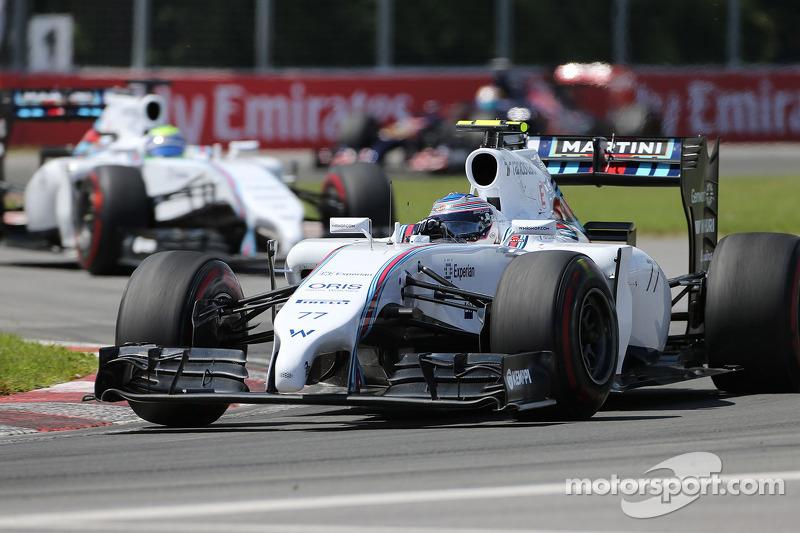 Valtteri Bottas, Williams F1 Team 08