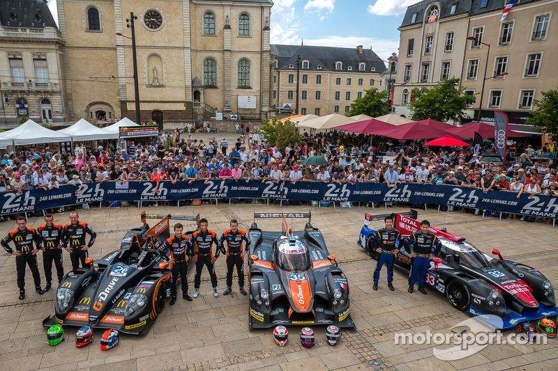 #26 G-Drive Racing Morgan - Nissan: Roman Rusinov, Olivier Pla, Julien Canal; #35 OAK Racing Ligier