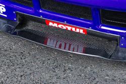 #72 SMP Racing Ferrari 458 Italia dettaglio aerodinamica