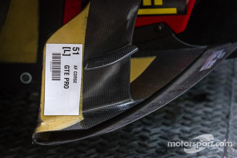 #51 AF Corse 法拉利 458 Italia 空气动力学细节