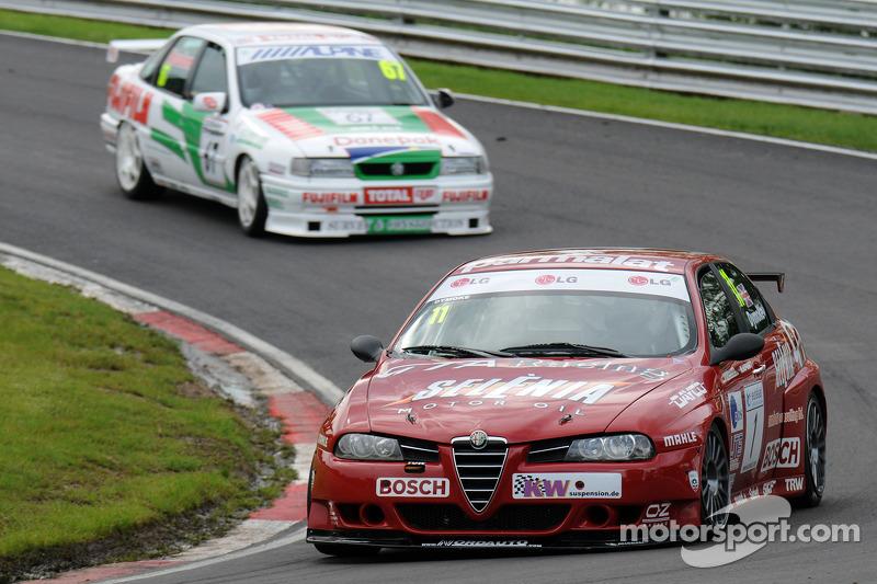 Steven Dymoke, Ex Fabrizio Giovanardi 2001 Championship winning ETCC Alfa Romeo 156 S200