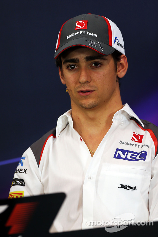 Esteban Gutierrez, Sauber na coletiva