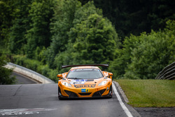 #69 Dörr Motorsport McLaren MP4-12C: Tim Mullen, Arno Klasen