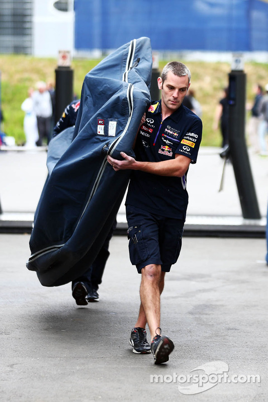Unterboden: Red Bull Racing RB10