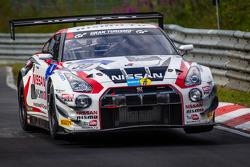 #30 Nissan GT Akademi Takımı RJN Nissan GT-R Nismo GT3: Michael Krumm, Tetsuya Tanaka, Kazuki Hoshino, Katsumasa Chiyo