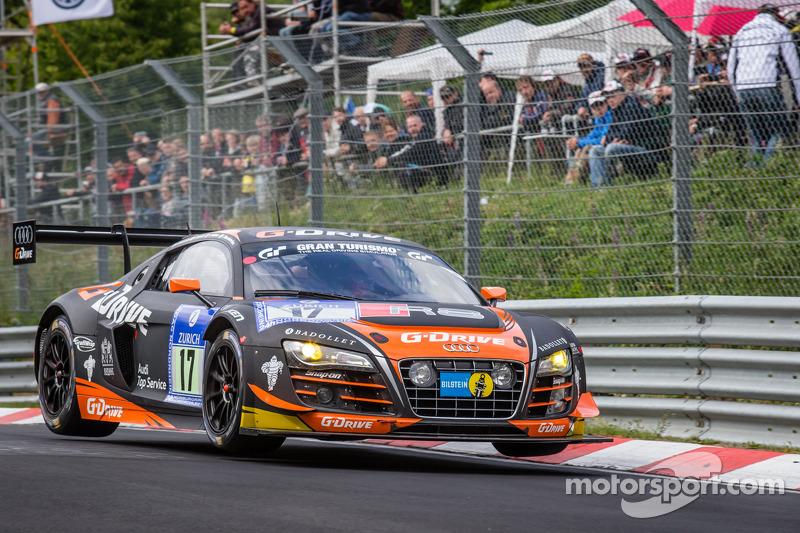 #17 WRT Racing Team Audi R8 LMS ultra: Roman Rusinov, Stéphane Ortelli, Edward Sandström, Nico Müller