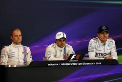 Conferência de imprensa pós-classificação, Williams, segundo; Felipe Massa, Williams, pole position; Nico Rosberg, Mercedes AMG F1, terceiro  21