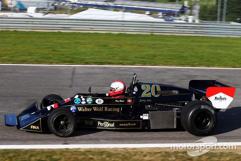Hans Binder con la sua FW05 Wolf-Williams
