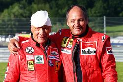 Niki Lauda, Presidente Mercedes non esecutivo con Gerhard Berger (AUT)