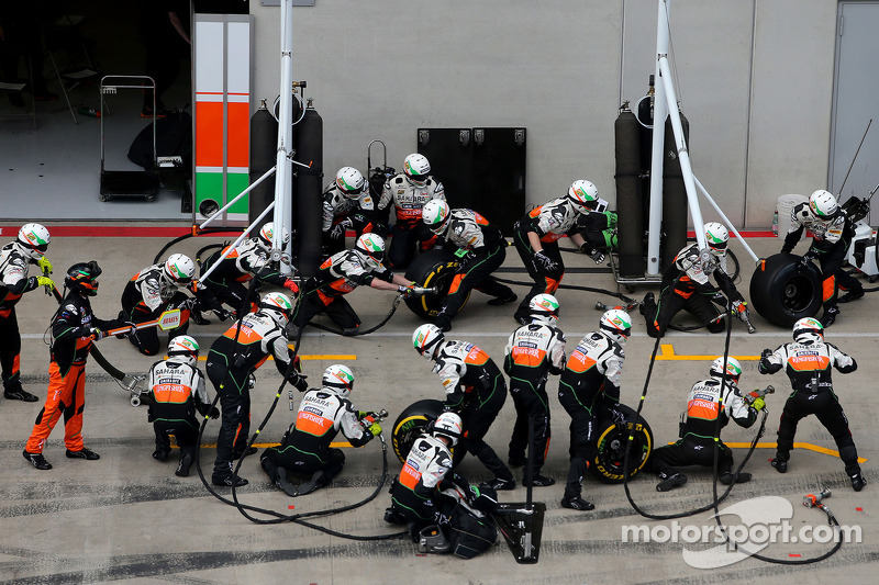 Boxenstopp: Mechaniker, Sahara Force India Formula One Team