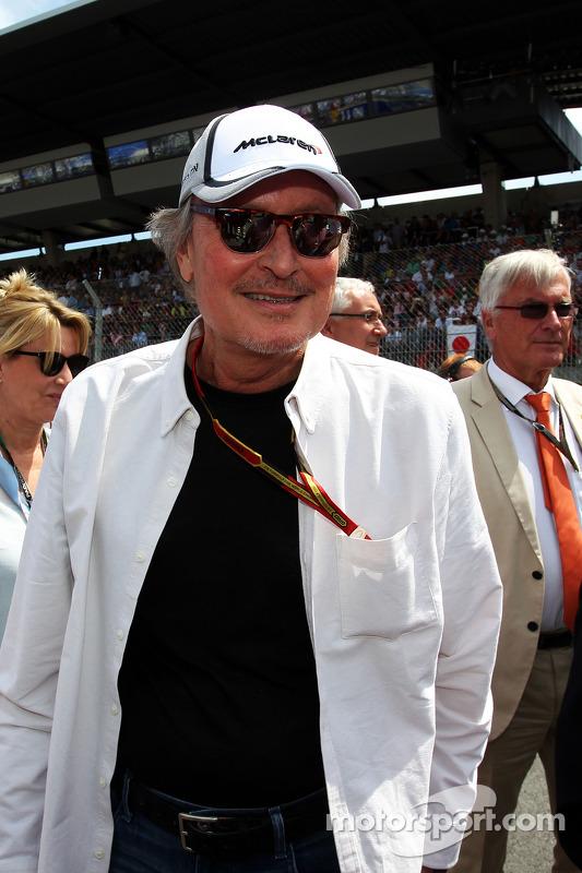 Startaufstellung: Manseur Ojeh, Anteilseigner, McLaren