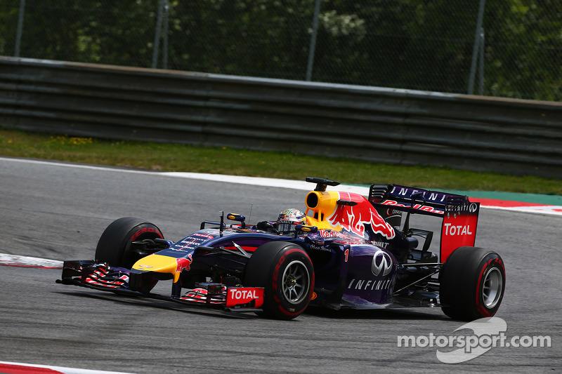 2014 год, раскраска Red Bull RB10