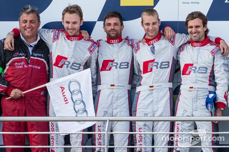2014: Christopher Haase, Christian Mamerow, René Rast, Markus Winkelhock