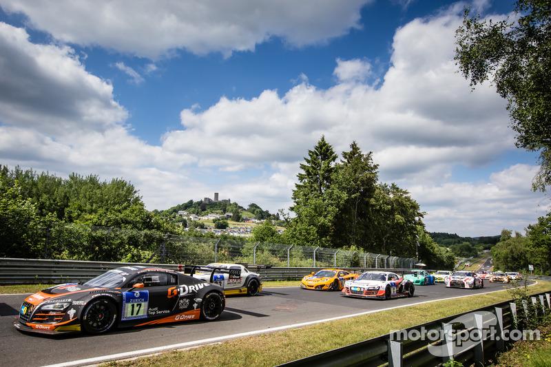 Via: #17 WRT Racing Team Audi R8 LMS ultra: Roman Rusinov, Stéphane Ortelli, Edward Sandström, Nico