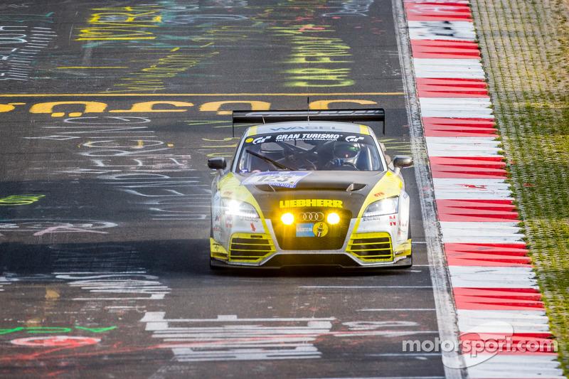 #123 Scuderia Colonia e.V. Audi TT RS: Matthias Wasel, Thomas Wasel, Marcos Löhnert, Roman Löhnert