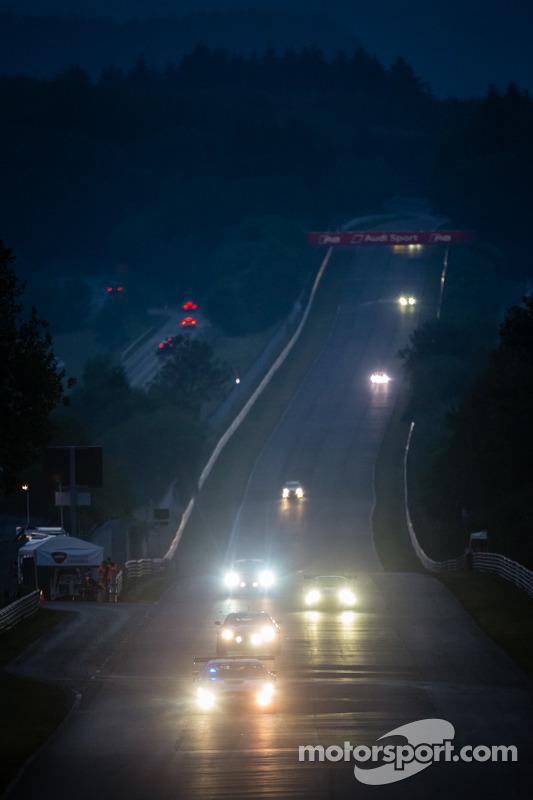 Corrida noturna no Döttinger Höhe