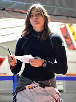Татьяна Кальдерон. Норисринг, пятничная квалификация.
