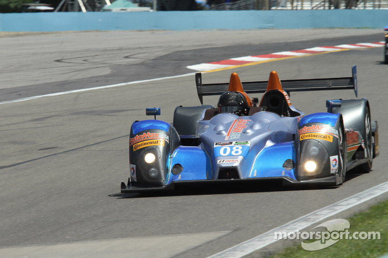 #08 RSR Racing Oreca FLM09 Chevrolet: Chris Cumming, Alex Tagliani, Rusty Mitchell