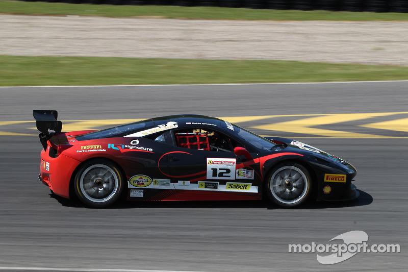 #12 Ferrari of Fort Lauderdale 法拉利 458: 丹·奥尼尔