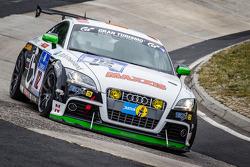 #112 Pro Handicap e.V. Audi TTS: Wolfgang Müller, Walter Nawotka, Jutta Kleinschmidt, Carlos Arimon