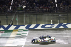 Brad Keselowski, Team Penske Ford takes the win