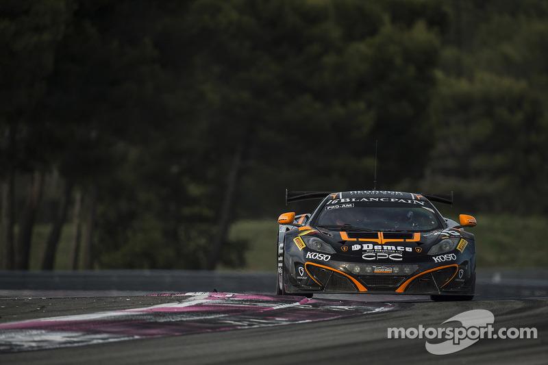 #16 Boutsen Ginion McLaren MP4-12C: Alex Demirdjian, Shahan Sarkissian, Chris van der Drift