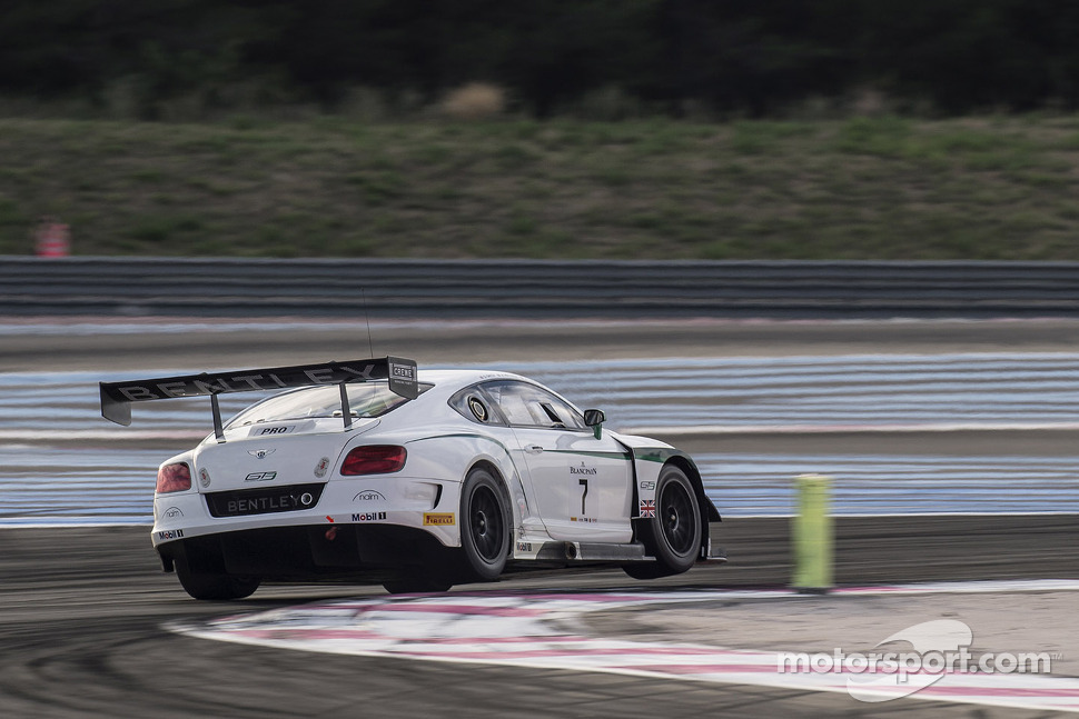 #7 M-Sport Bentley Bentley Continental GT3: Andy Meyrick, Guy Smith, Steven Kane
