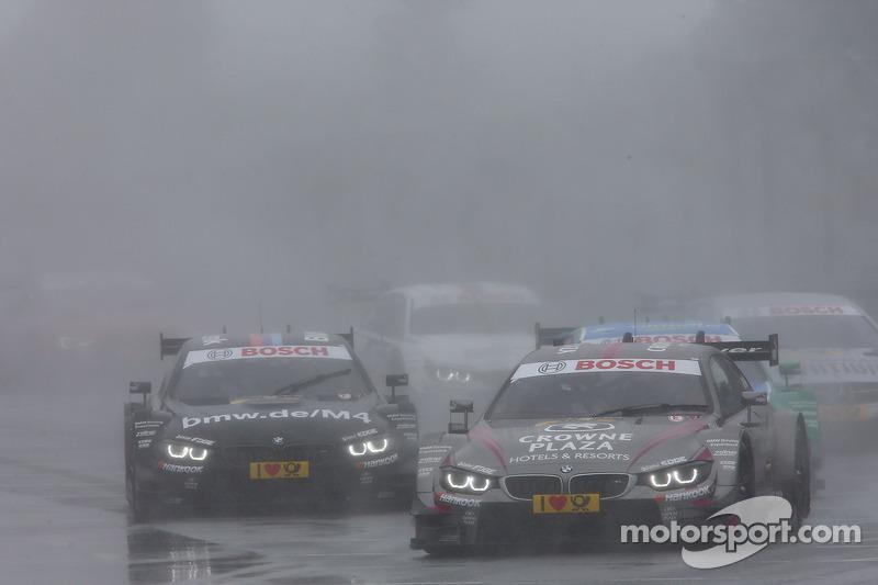Joey Hand, BMW Team RBM BMW M4 DTM e Bruno Spengler, BMW Team Schnitzer BMW M4 DTM