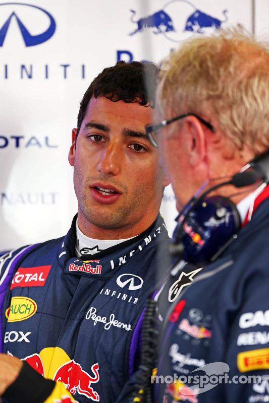Daniel Ricciardo, Red Bull Racing com Dr Helmut Marko, Red Bull Motorsport