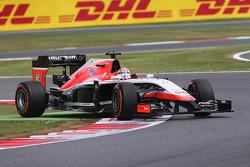 Jules Bianchi, Marussia F1 Team MR03 curva largo
