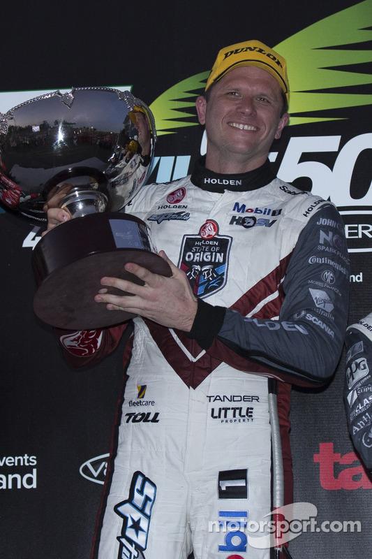 Vencedor da corrida Garth Tander, Holden Racing Team