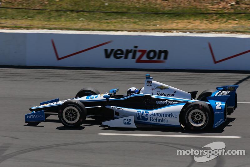 2014: Juan Pablo Montoya (Penske-Chevrolet) mit 40,202 Sekunden