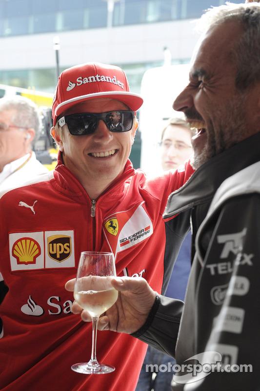 Kimi Räikkönen avec Beat Zehnder