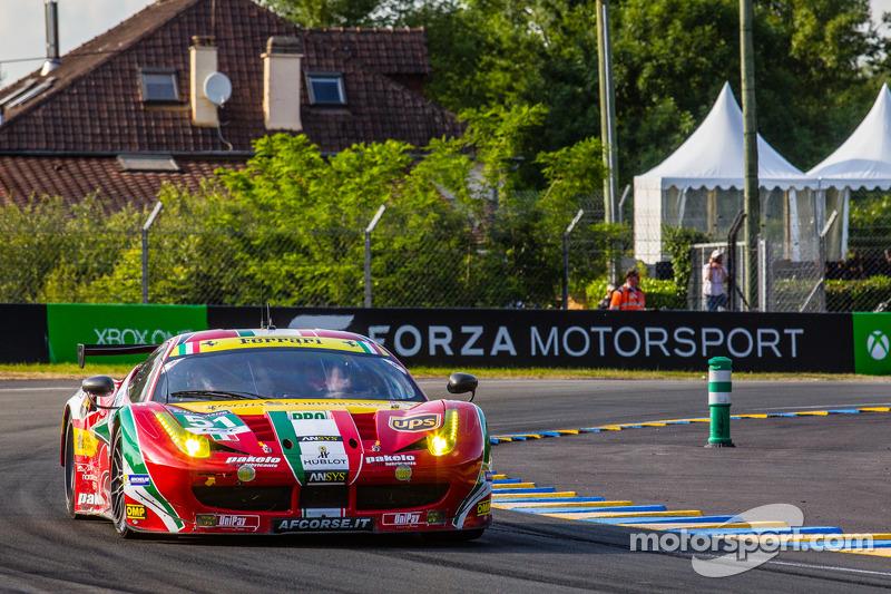 #51 AF Corse 法拉利 458 Italia: 吉安玛利亚·布鲁尼, 托尼·维兰德, 吉安卡洛·费斯切拉