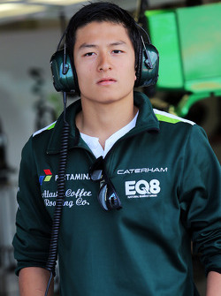 Rio Haryanto, Caterham F1 Team, Testfahrer