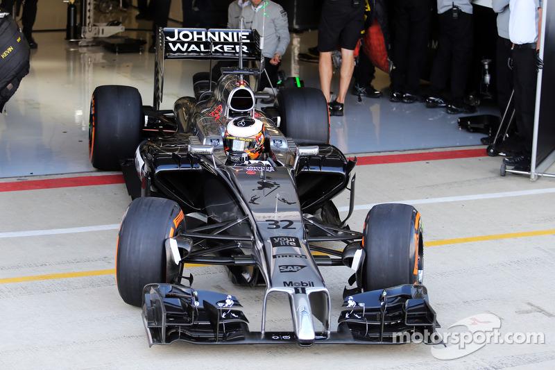 Stoffel Vandoorne, McLaren MP4-29  tester e pilota di riserva