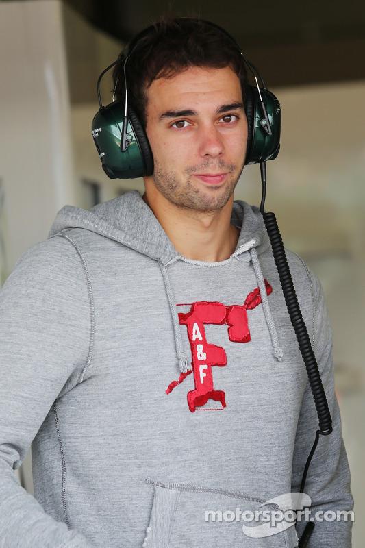Nathanael Berthon, Piloto de desenvolvimento da Caterham F1 Team