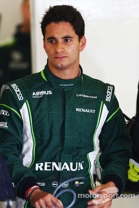 朱利安·里尔,卡特汉姆F1车队测试车手
