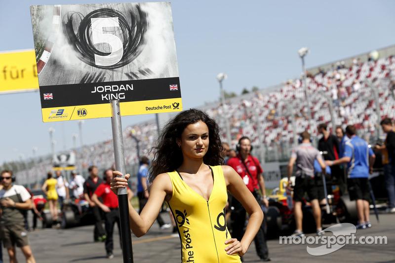 Grid kızı: Jordan King