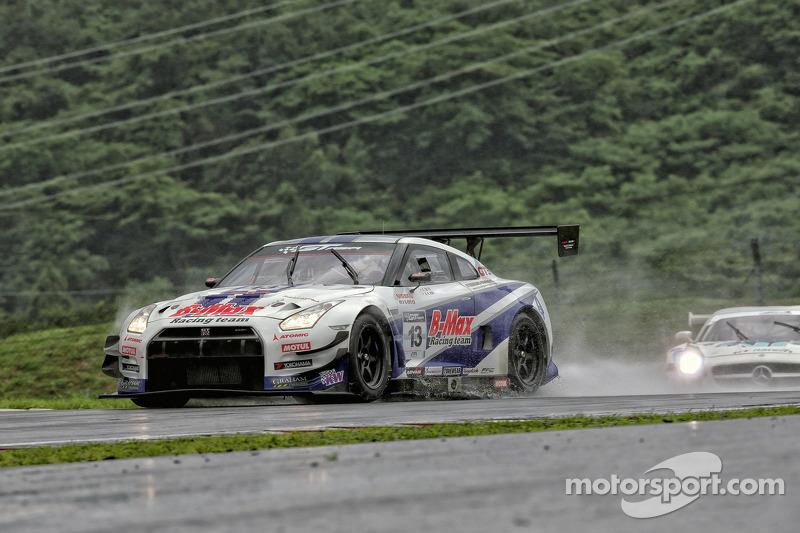 #13 B-Max Racing Nissan GT-R GT3: Robert Hori, Katsumasa Chiyo