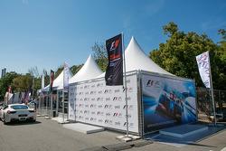Werbezelt für das Sochi Autodrom