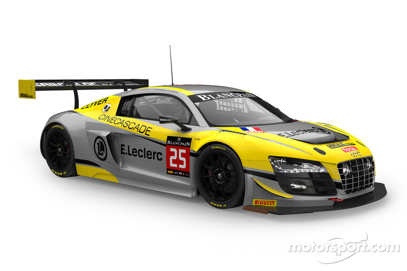 #25 Saintéloc Racing 奥迪 R8 LMS ultra: Jean-Paul Buffin, Claude-Yves Gosselin, Philippe Haezebrouck, Marc Rostan