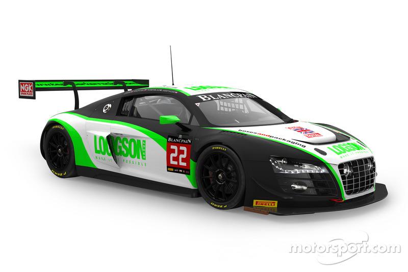 #22 Team Parker Racing 奥迪 R8 LMS ultra: 伊恩·洛吉, 列昂尼德·马赫茨基, 卡尔·罗森布拉德, 朱利安·韦斯特伍德