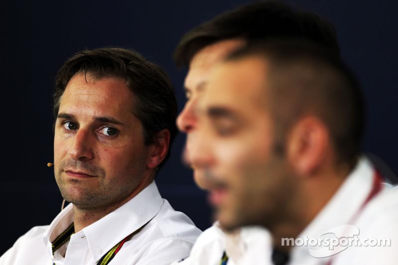 Christian Albers, Caterham F1 Team, Team Principal in the FIA Press Conference