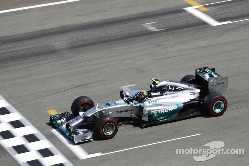 2014 - Hockenheim: Nico Rosberg, Mercedes F1 W05 Hybrid