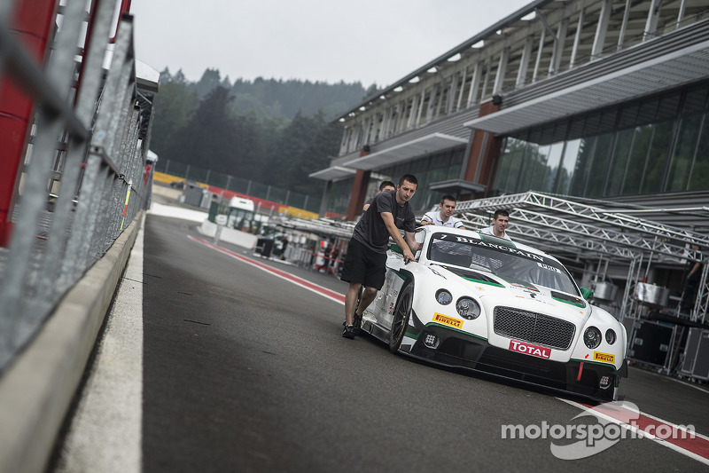 #7 M-Sport 宾利 宾利 Continental GT3