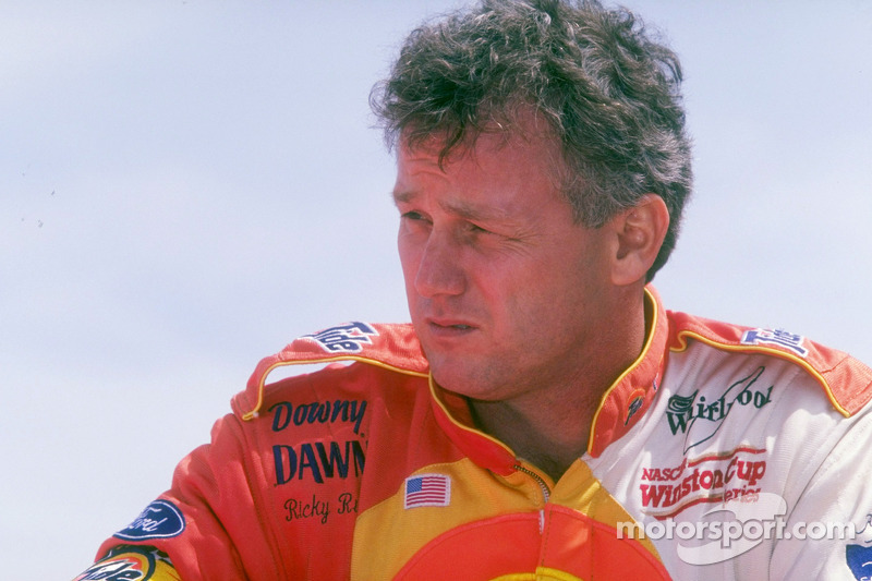 Race winner Ricky Rudd